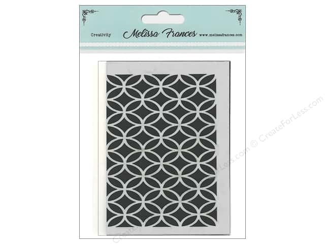 Melissa Frances Stencil 3 in. x 4 in.   Circles