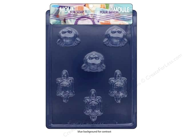 Life Of The Party Mold For Soap Frog/Turtle