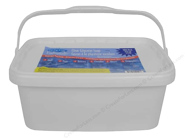 Life Of The Party Soap Base Glycerin 10 lb Clear