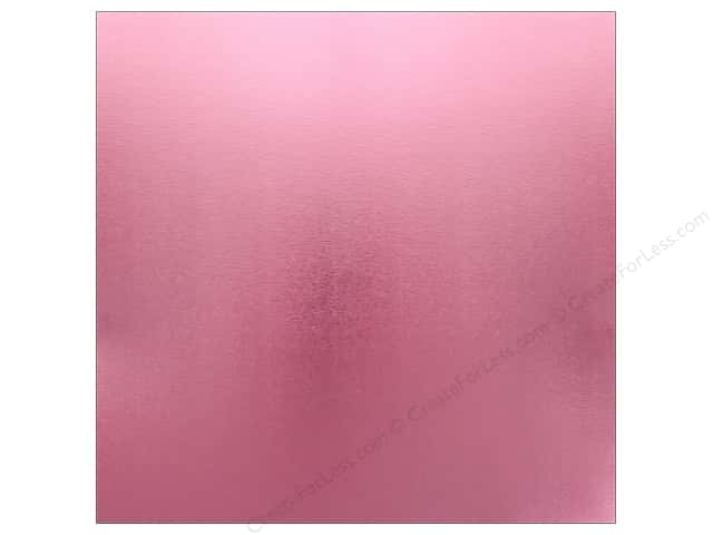 Best Creation Paper 12 in. x 12 in. Foil Texture Pink (25 pieces)