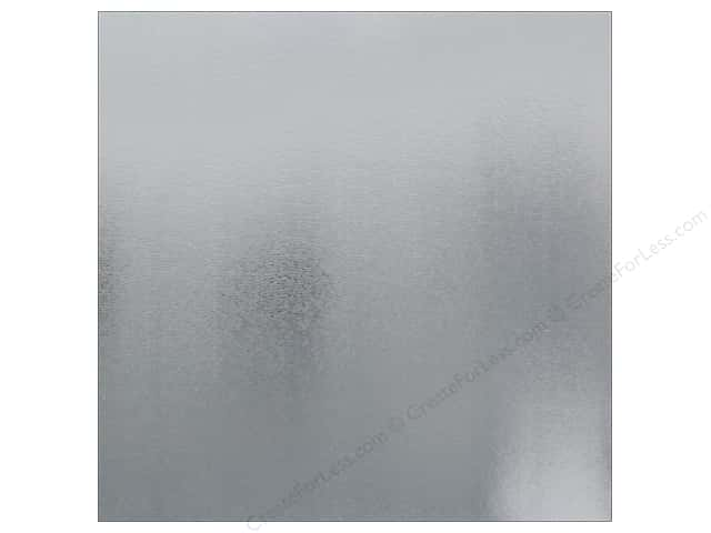 Best Creation Paper 12 in. x 12 in. Foil Texture Silver