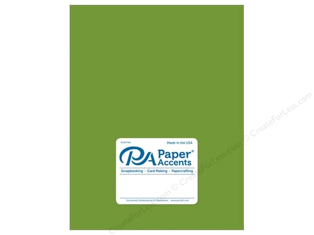 Paper Accents Cardstock 8.5 in. x 11 in. Pearlized 105 lb Lime Rickey (25 sheets)
