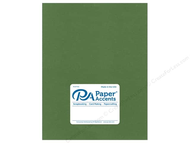 Paper Accents Cardstock 8 1/2 x 11 in. #8864C Pearlized Cilantro (25 sheets)