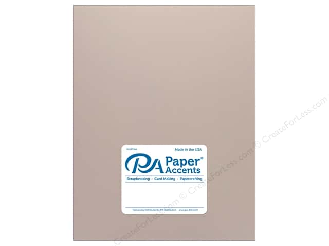 Paper Accents Cardstock 8.5 in. x 11 in. Pearlized 105 lb Rose Gold (25 sheets)