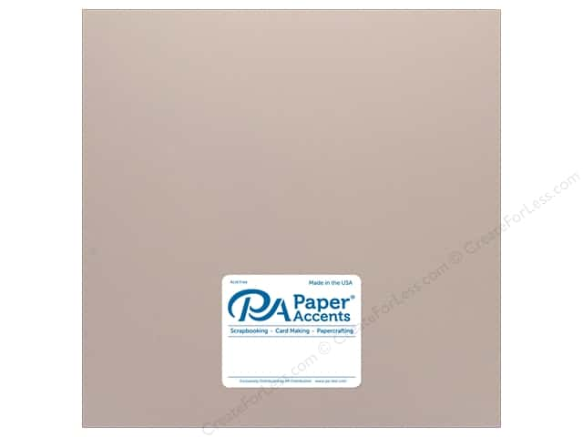 Paper Accents Cardstock 12 in. x 12 in. Pearlized 105 lb Rose Gold (25 sheets)