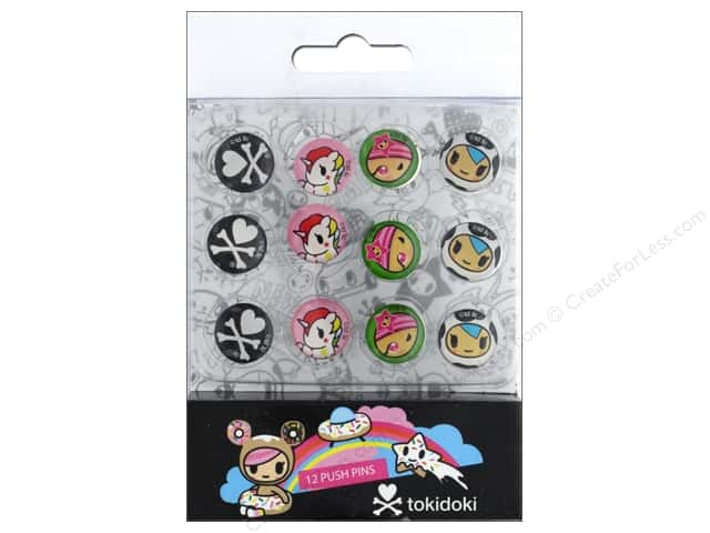 Blueprint Books Tokidoki Push Pin