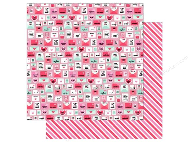 "Doodlebug So Punny Paper 12""x 12"" Pun Pal (25 pieces)"