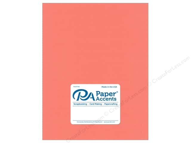 Paper Accents Cardstock 8.5 in. x 11 in. Muslin 73 lb Satin Rose (25 sheets)