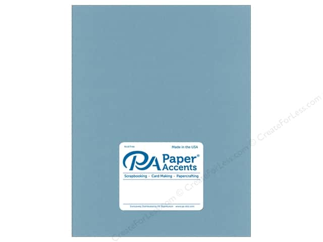Paper Accents Cardstock 8.5 in. x 11 in. Smooth 65 lb Evening Surf (25 sheets)