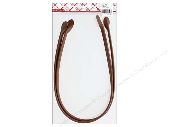 Inazuma Handles Leather Like Hand Sew 28 in. Brown