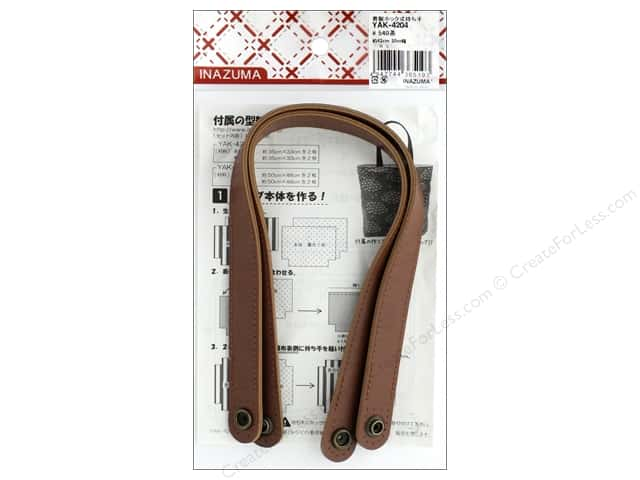 Inazuma Handles Leather Like Snappy 17 in. Brown