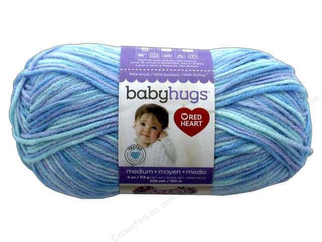 Red Heart Baby Hugs Medium Yarn 208 yd. #4951 Daydreamer