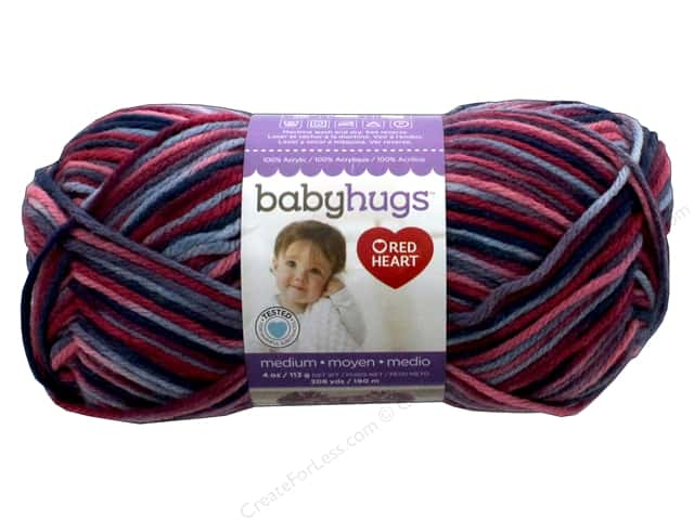 Red Heart Baby Hugs Medium Yarn 208 yd. #4953 Fairy Tale