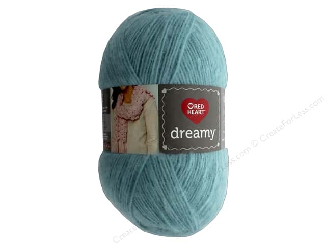Coats & Clark Red Heart Dreamy Yarn 8.8 oz Aqua