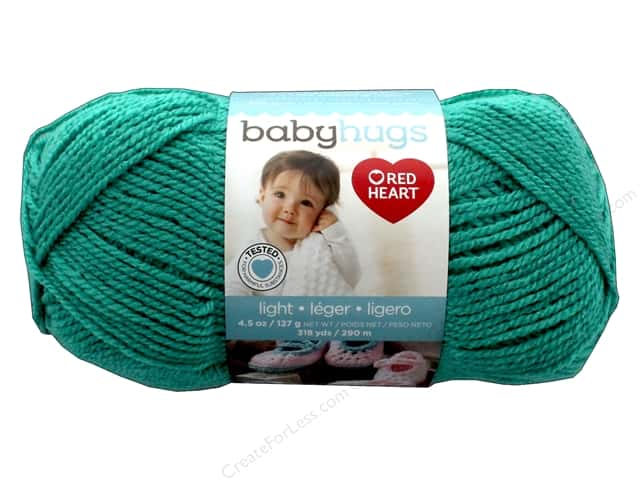 Red Heart Baby Hugs Light Yarn 247 yd. #3562 Aloe