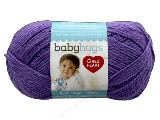 Red Heart Baby Hugs Light Yarn 247 yd. #3538 Lilac