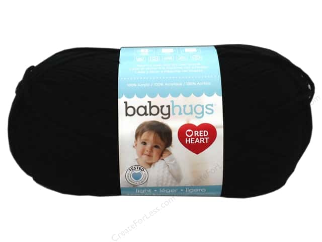 Red Heart Baby Hugs Light Yarn 247 yd. #3012 Ink
