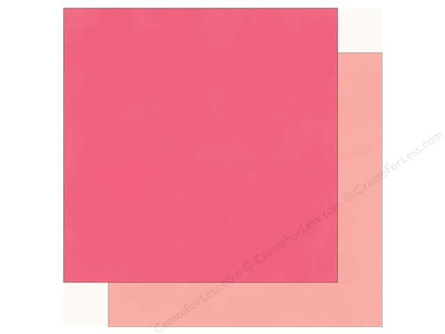 Echo Park Fashionista Paper 12 in. x 12 in.  Dark Pink/Light Pink (25 pieces)