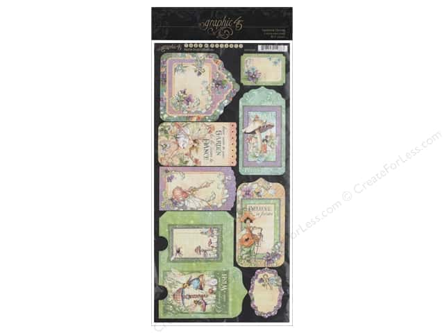 Graphic 45 Fairie Dust Tags & Pockets