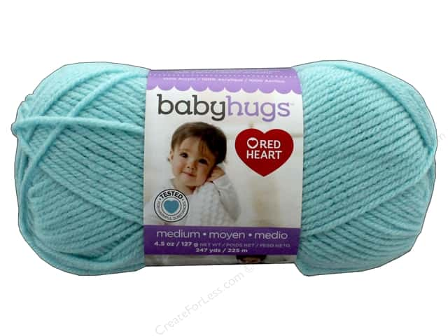 C&C Red Heart Baby Hugs Yarn Medium 4.5 oz Pool