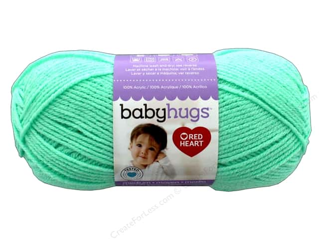 Red Heart Baby Hugs Medium Yarn 247 yd. #4625 Sprout