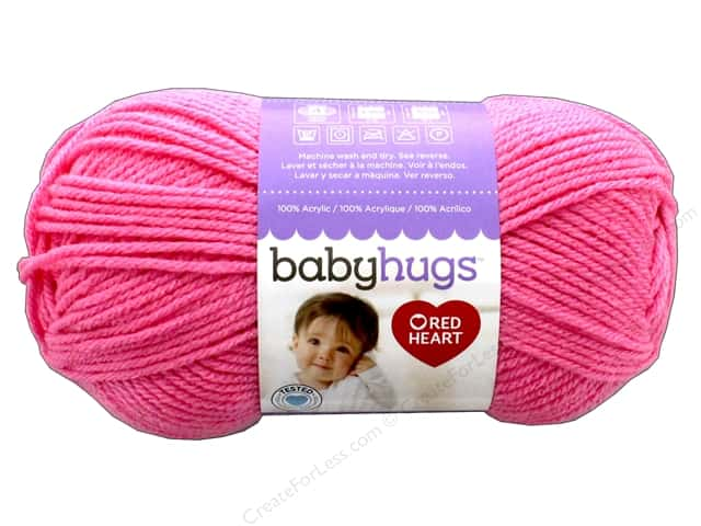 Red Heart Baby Hugs Medium Yarn 247 yd. #4704 Happy