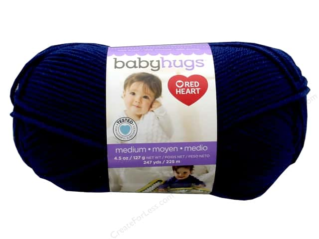 Red Heart Baby Hugs Medium Yarn 247 yd. #4801 Blueberry