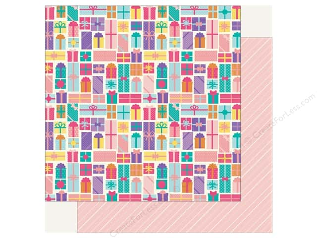 Echo Park Happy Birthday Girls Paper 12 in. x 12 in. Birthday Gifts (25 pieces)