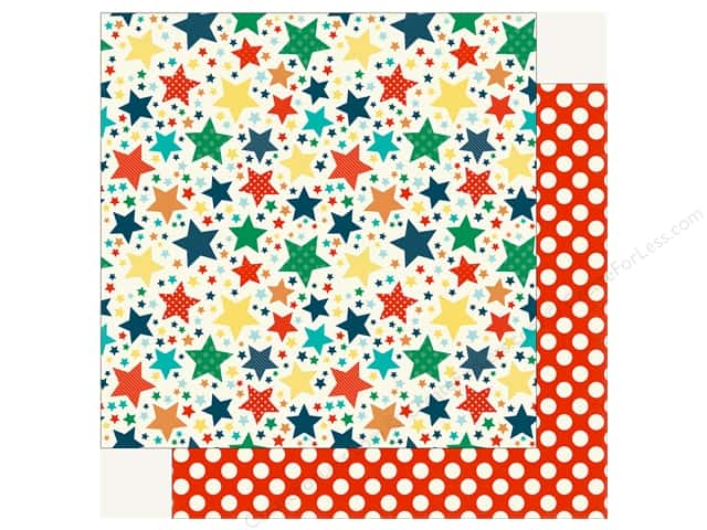 Echo Park Happy Birthday Boy Paper 12 in. x 12 in. Star Of The Show (25 pieces)