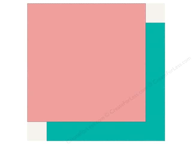 Echo Park Happy Birthday Girls Paper 12 in. x 12 in. Pink/Teal (25 pieces)