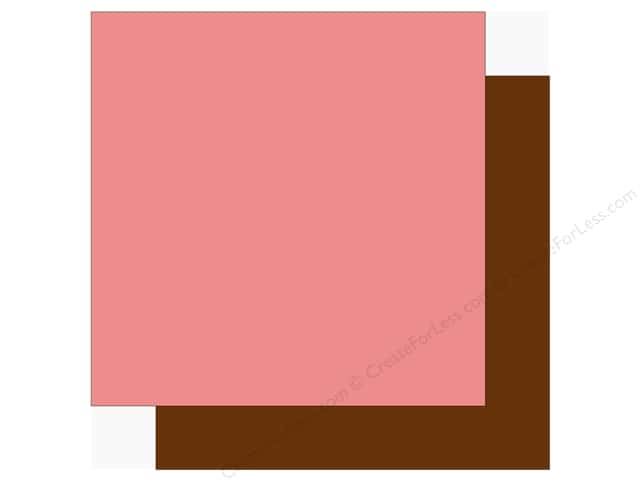 Echo Park Sweet Baby Girl Paper  12 in. x 12 in.  Pink/Brown (25 pieces)