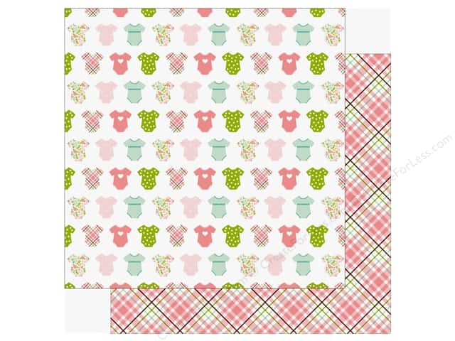Echo Park Sweet Baby Girl Paper  12 in. x 12 in. Bundle Of Joy (25 pieces)