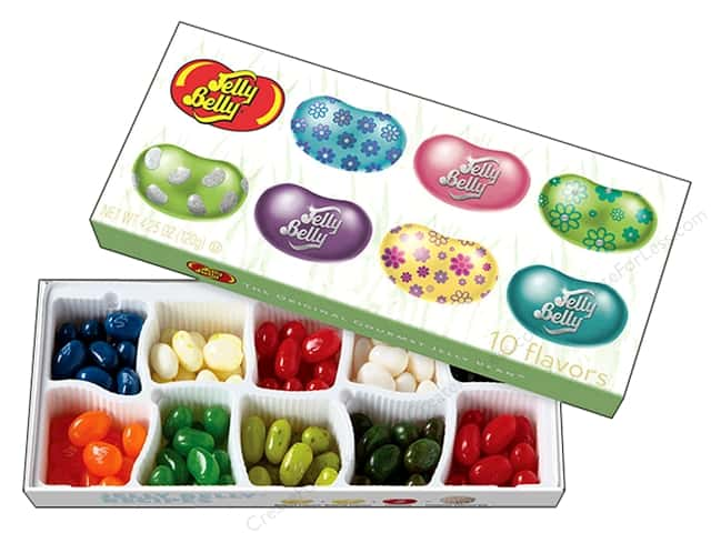 Jelly Belly Jelly Beans Gift Box 4.25 oz 10 Flavors Easter