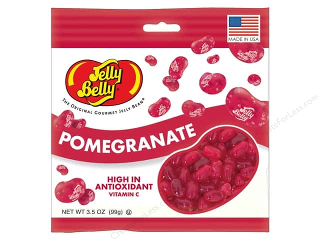 Jelly Belly Jelly Beans 3.5oz Pomegranate