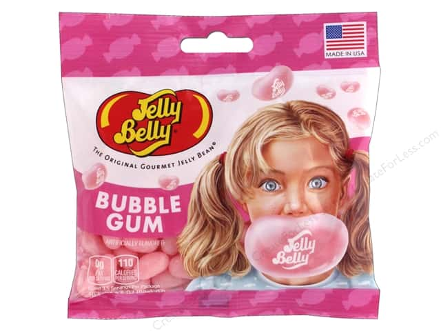 Jelly Belly Jelly Beans 3.5 oz Bubble Gum