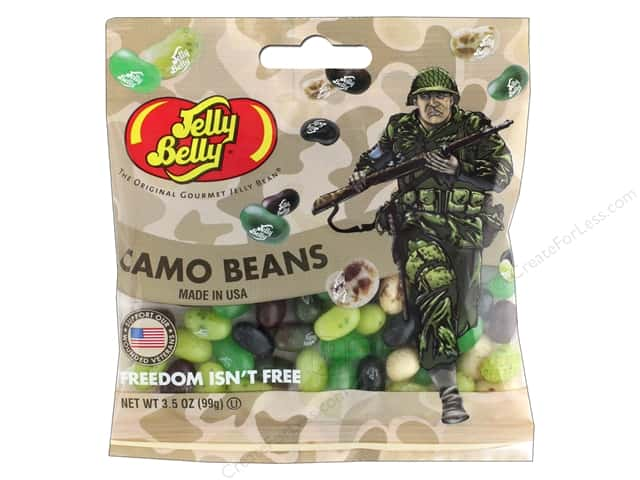 Jelly Belly Jelly Beans 3.5 oz Camo Beans
