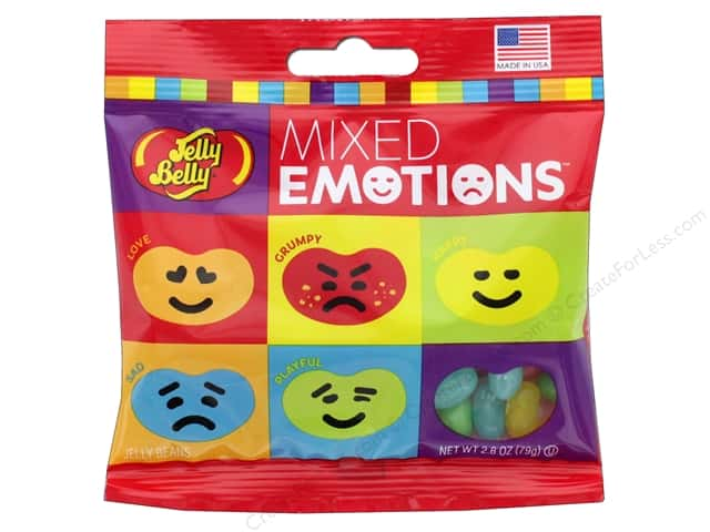 Jelly Belly Jelly Beans 2.8 oz Mixed Emotions