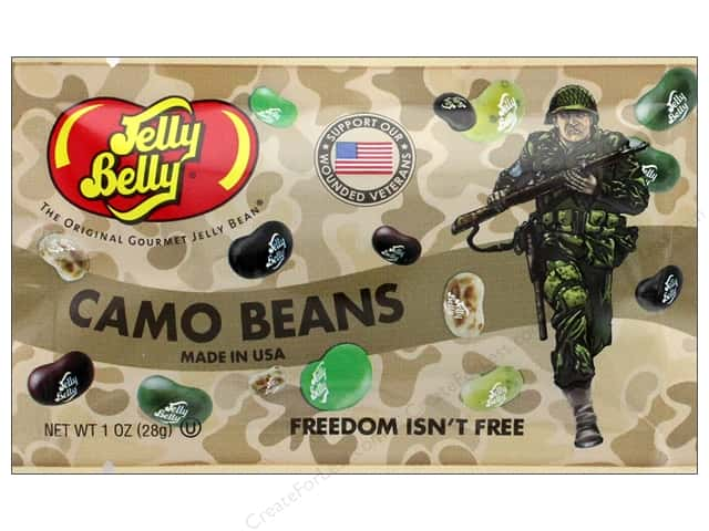 Jelly Belly Jelly Beans 1 oz Camo Beans
