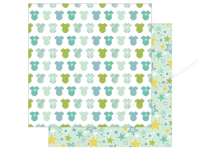 Echo Park Collection Sweet Baby Boy Paper 12 in. x 12 in. Boy Oh Boy (25 pieces)