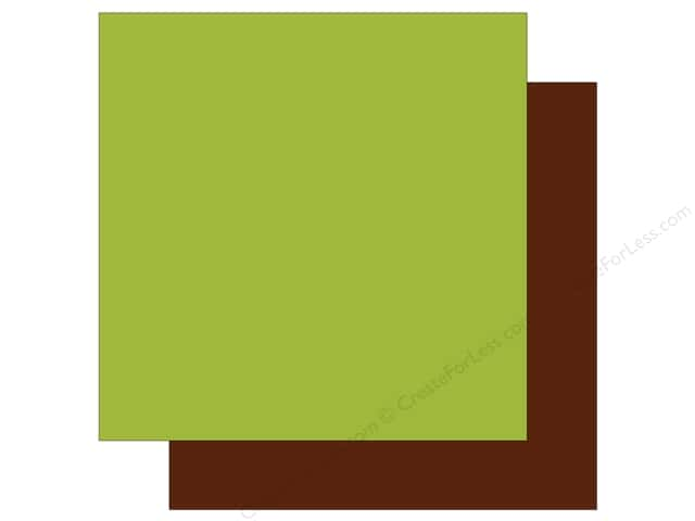 Echo Park Collection Sweet Baby Boy Paper  12 in. x 12 in. Green/Brown (25 pieces)