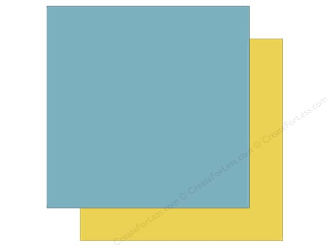 Echo Park Collection Sweet Baby Boy Paper  12 in. x 12 in. Blue/Yellow (25 pieces)
