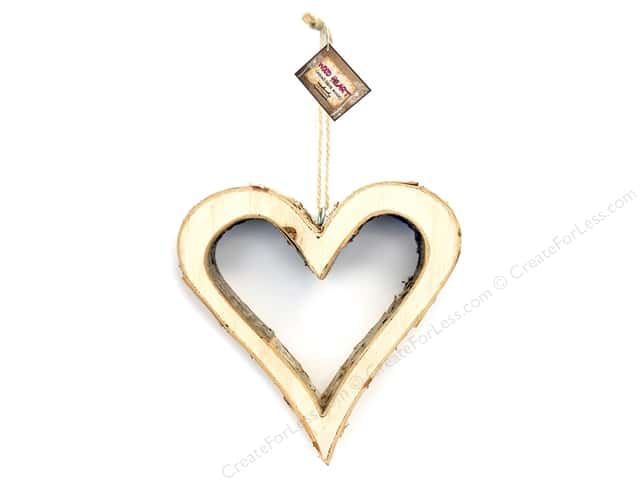 BCI Crafts Bark Small Heart