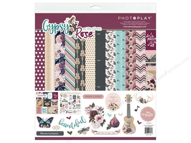 Photo Play Gypsy Rose Collection Pack 12 in. x 12 in.