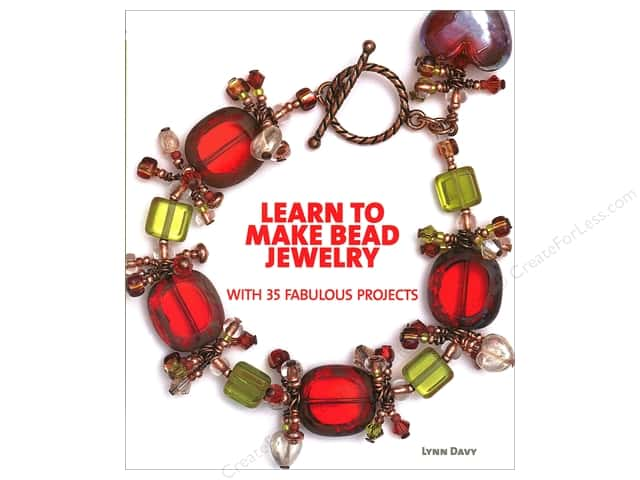 Kalmbach Learn To Make Bead Jewelry Book