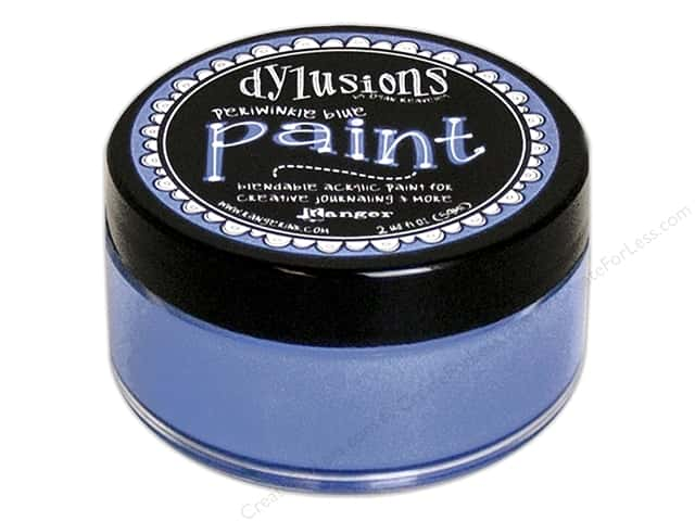 Ranger Dylusions Paint 2 oz Periwinkle Blue