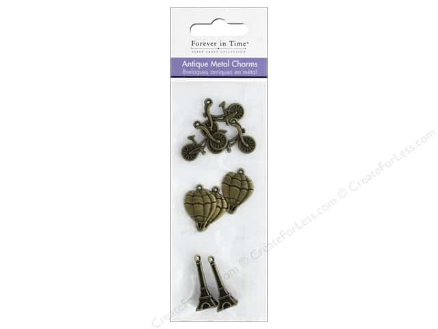 Mulitcraft Metal Charms Antique Paris