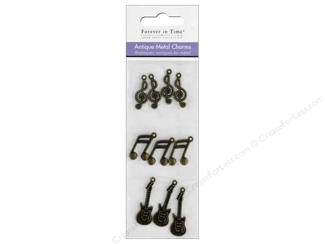 Mulitcraft Metal Charms Antique Melody