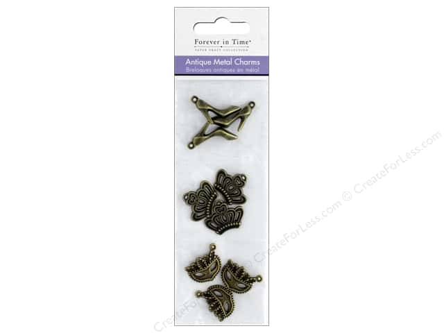 Mulitcraft Metal Charms Antique Gala