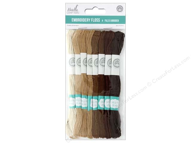 MultiCraft Cord Needlecrafter Embroidery Floss 6 Strand Natural
