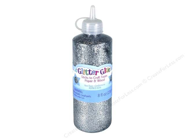 Sulyn Glitter Glue 8 oz Silver